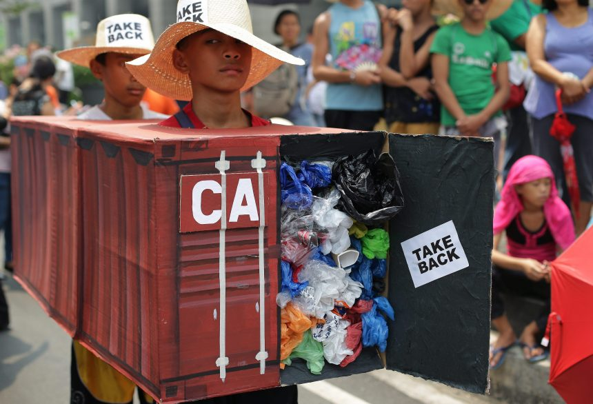 Canada rejects global ban on shipping recyclables as trash rots in Manila
