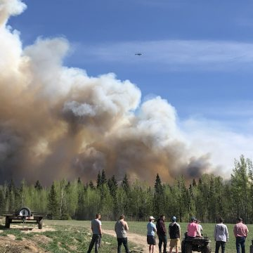 Wildfire prompts evacuation order, state of emergency in central B.C.