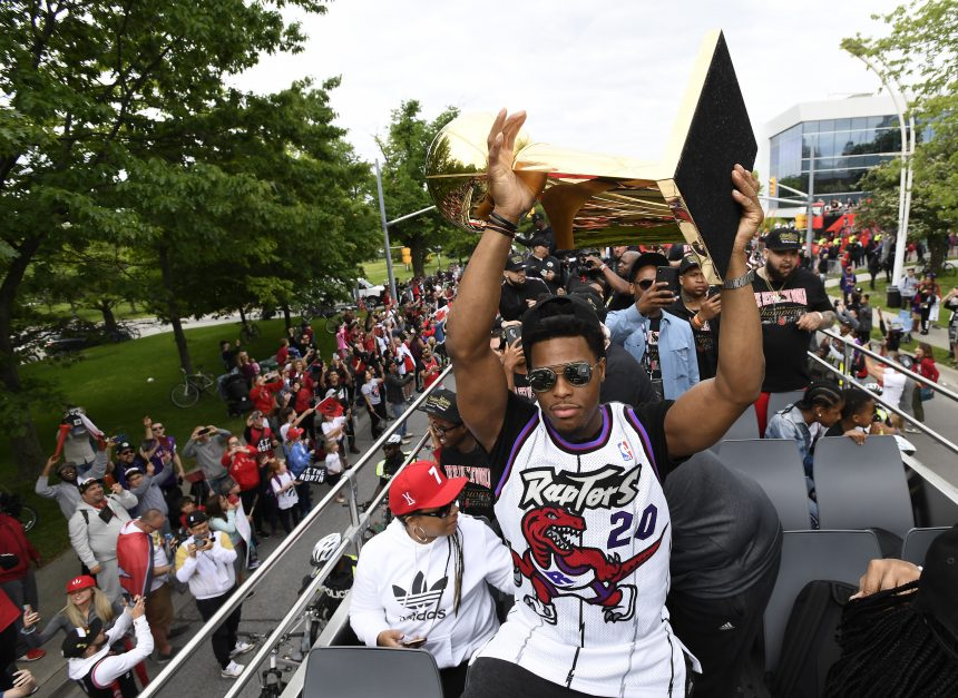 "TORONTO CELEBRATES ""WE THE NORTH"" DAY WITH A RAPTORS' CHAMPIONSHIP PARADE"