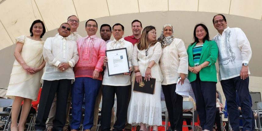Canada Celebrates its first Filipino Heritage Month of June from Coast to Coast