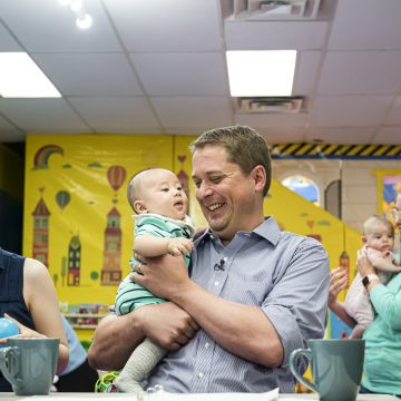 Scheer promises EI tax credit for new parents if Conservatives form government