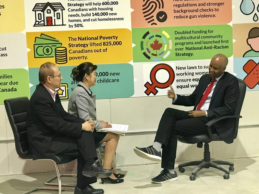 Canada's Immigration Minister Ahmed Hussen talks about success of provincial pilot programs and waiving Canadian citizenship fees