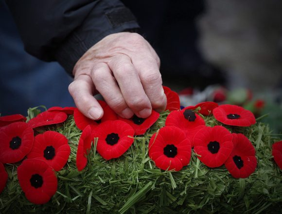Canadians mark Remembrance Day this morning