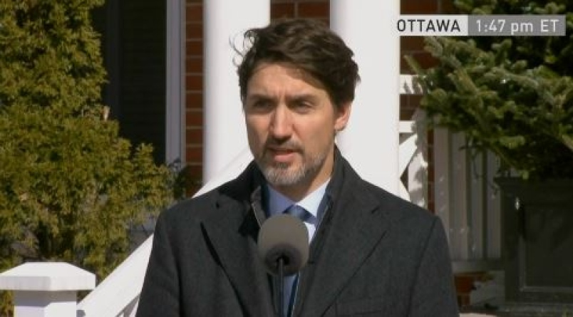 $2,000 per month for Canadians from new emergency COVID-19 benefits, PM says